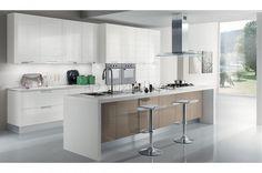 "Кухня ""Стефания 3D"" на заказ. Цена, фотографии и описание."