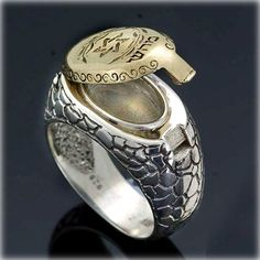 Kabbalah Gold and Silver Ring for Health