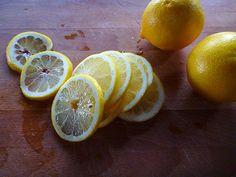 Freezing Lemon Slices, Lemon Juice and Lemon Zest
