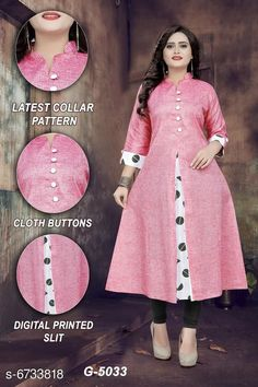 Kurtis & Kurtas Women's Printed Khadi Cotton Kurti Fabric: Khadi Cotton Combo of: Single Sizes: M (Bust Size: 38 in Size Length: 46 in)  L (Bust Size: 40 in Size Length: 46 in)  XL (Bust Size: 42 in Size Length: 46 in)  XXL (Bust Size: 44 in Size Length: 46 in)  Country of Origin: India Sizes Available: M, L, XL, XXL   Catalog Rating: ★4.1 (471)  Catalog Name: Abhisarika Graceful Kurtis CatalogID_1073550 C74-SC1001 Code: 943-6733818-648