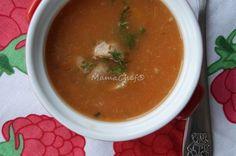 Zupa pomidorowa dla niemowlaka Toddler Meals, Menu, Ethnic Recipes, Food, Menu Board Design, Essen, Meals, Toddler Food, Yemek