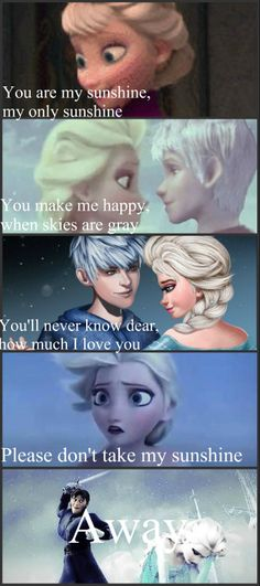 You like? I made it! It's You Are My Sunshine! But with Jelsa!<<< This is soooo perfect!!!!!!