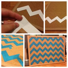 How to make & use a chevron pattern!