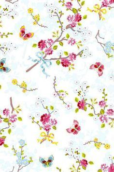 Pip studio behang 386030 eijffinger chinese rose vliesbehang vlinders bloemen smartpaper www.wemekampschildersbedrijf.nl