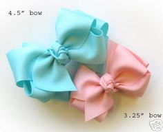 eBay , beautiful bows.