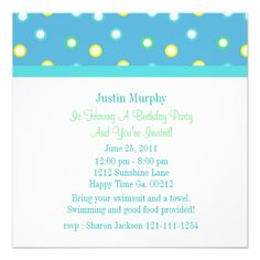 Colorful Os Birthday Party Invitations