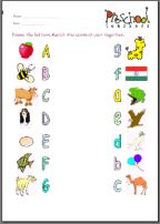 Image result for recognition of alphabets with pictures