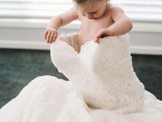 comment réaliser des clichés de mariage mignons avec des enfants, photo mariage des préparatifs de la mariée