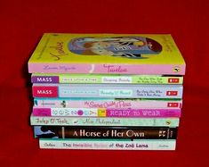 Girl's Chapter Books Lot 8 Lauren Myracle Mass Schroeder Zoe Lama Grades 5 6 7 Miss Independent, Chapter Books, Book Girl, Beauty And The Beast, Girls, Toddler Girls, Daughters, Maids