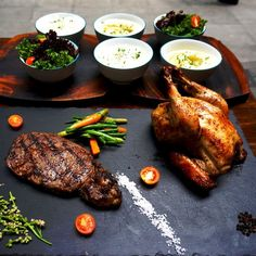500 grams of Angus Ribeye & 1 Whole Organic Truffle Chicken Family Meal At Poulet Manille in SM Aura, Makati, Truffles, Family Meals, Steak, Organic, Chicken, Dining, Food, Manila