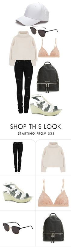 """""""Untitled #42"""" by belabelistic ❤ liked on Polyvore featuring Yves Saint Laurent, Naot, Base Range, RetroSuperFuture, MICHAEL Michael Kors, women's clothing, women, female, woman and misses"""