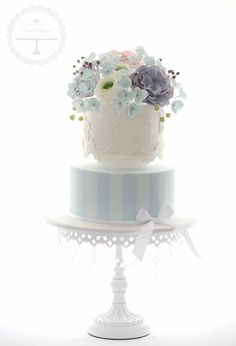 """Blue is one lucky color when it comes to the wedding day. And for that reason, we're channeling the positive energy with these gorgeous """"something blue"""" wedding cakes! See some of the fanciest, cool blue cakes below for some sweet inspiration. Happy pinning! Featured Photography:Megan Vaughanvia Wedding Chicks Featured Cake:Natalie Madison's Artisan Cakes Featured Cake: […]"""