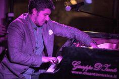 """EMMET COHEN TRIO  Emmet Cohen – piano Elio Coppola – batteria Giuseppe Venezia – contrabbasso, COMPLESSO TURISTICO AVERNO """"DAMIANI"""" - 27 dicembre 2013"""