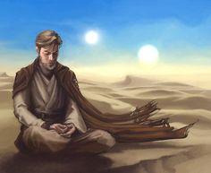 """That wizard's just a crazy old man"" Owen Lars about Obi-Wan Kenobi  #starwars #obiwankenobi #lukeskywalker #owenlars"