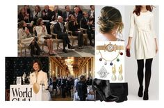 """Attending the 2nd Annual World Child & Youth Forum at the Royal Palace with Mamma, Papa, Madeleine, Victoria, and Daniel"" by louiseingrid-ofdenmark ❤ liked on Polyvore featuring Milly, Annoushka, Pretty Ballerinas, Wolford and Christian Louboutin"