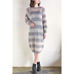 MAIAMI - MOHAIR BASIC SWEATER DRESS/マイアミ・ニットウェアー