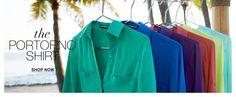 Portofino Shirt at EXPRESS