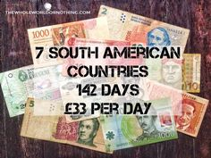 How much should you budget for travelling South America? Find out here in our detailed budget guide. Sx