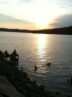 Beaver Lake in Arkansas