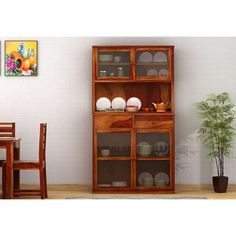 Find the perfect kitchen cabinet online as per your needs. Wooden street presents a great collection of wooden kitchen cabinets crafted with premium quality solid wood. You can also scroll the modern range of kitchen cabinets with glass doors. Kitchen Cabinets India, Glass Kitchen Cabinet Doors, Solid Wood Kitchen Cabinets, Kitchen Cabinets For Sale, Solid Wood Kitchens, Kitchen Cabinet Storage, Wooden Cabinets, Kitchen Cabinet Design, Kitchen Furniture