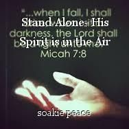Stand Alone- His Spirit is in the Air