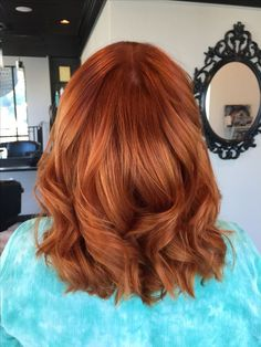 Pumpkin spice hair color. Are you looking for ginger hair color styles? See our collection full of ginger hair color styles and get inspired!