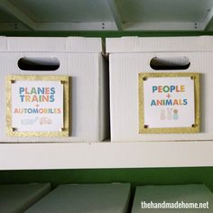 toy storage solution | the handmade home