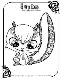 Mr. Stinky Skunk Creative Cuties: February 2012