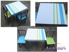 table ikéa enfant relookée Om, House, Ideas, Child Room, Furniture, Home, Haus, Houses, Thoughts