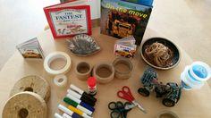 Exploring Wheels at chadwell Preschool