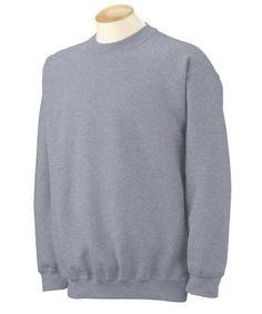 Gildan Heavy Blend Crewneck Sweatshirt. 18000, Men's, Size: XXXXX-Large, Grey