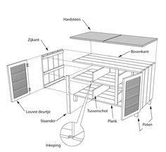 Met deze klusinstructie maak je zelf een handige buitenkeuken voor op je balkon of terras.