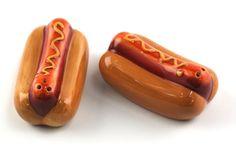 Hot Dog - Salt & Pepper Shakers
