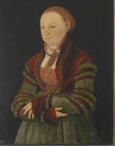 Portrait of the Lady of Schleinitz (?)  1526, Lucas Cranach the Elder and workshop. Klassik Stiftung Weimar  https://sphotos-b.xx.fbcdn.net/hphotos-ash4/230329_3515139095893_182825754_n.jpg