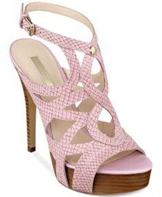 GUESS Kaesy Platform Sandals | macys.com
