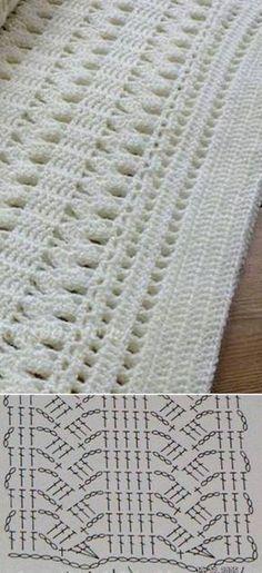 El patrón de crochet originales