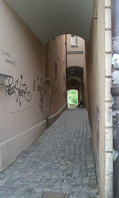 Alley, Passau, Germany