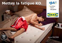 Mettez la fatigue KO - IKEA Njut
