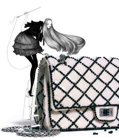 Laura lane illustration for muse magazine