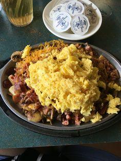Skillet Breakfast Skillet Breakfast Scrambler Breakfast Potatoes Bacon ...