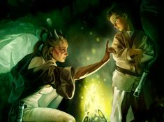 Padawans would typically go on missions with their Jedi Masters to learn from experience