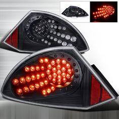 2000-2005 Mitsubishi Eclipse Led Tail Light Black