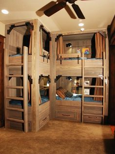 L Shaped Bunk Beds Bunk Bed And Amish Furniture On Pinterest