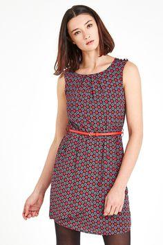 Louche+Dreamy+Tile+Print+Dress