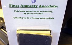 On the Return of a Long-Lost Library Book, the World Rejoices