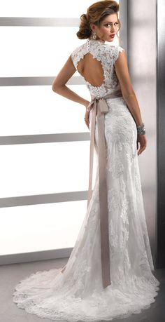 backless lace wedding dresses love it