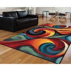 Modern Colorful Rug For Living Room