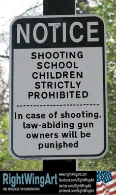 Notice - Shooting school children strictly prohibited!