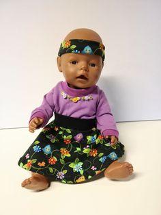 3 delt sett til dukken Slippers, Rose, Baby, Pink, Slipper, Baby Humor, Roses, Infant, Babies