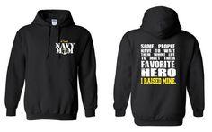 Check out Navy Mom Hoodie Us Navy Mom Gift Proud Navy Mom Navy Wife Military Mom US Navy Hoodie Navy Wife Sweathsirt I Raised Mine Navy Mom Shirt GD on NCWDesigns